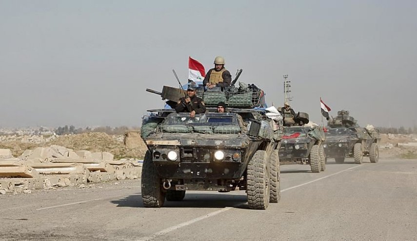 pasukan irak menuju perbatasan