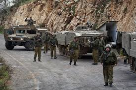 tentara israel dekat perbatasan libanon