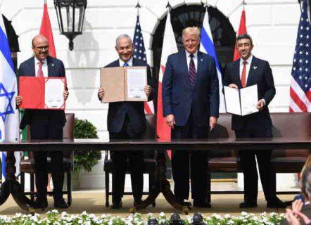 perjanjian damai UEA dan Bahrain dengan israel