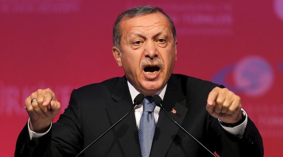 erdogan berpidato