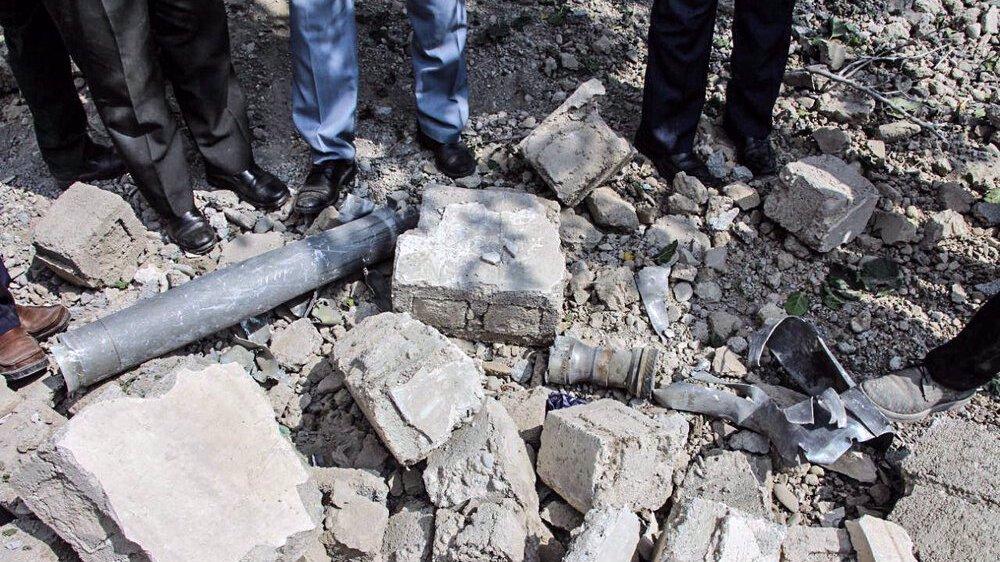 mortir perang karabakh di iran
