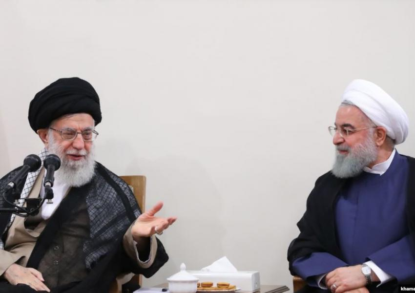 khamenei dan rouhani