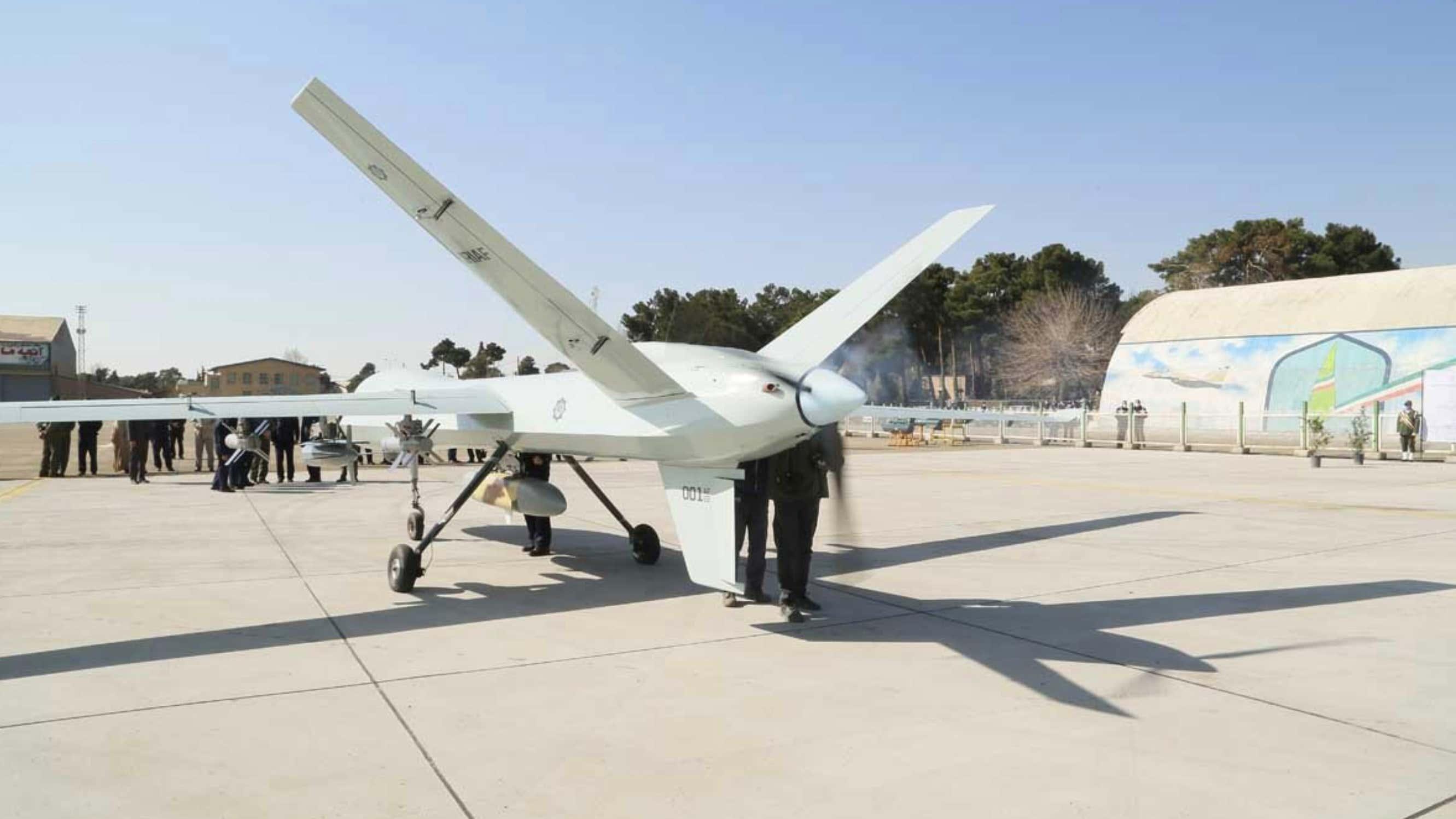drone kaman-22 iran 1