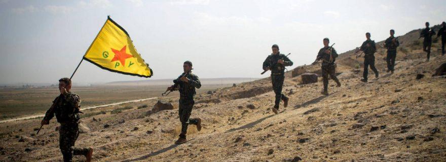 Pasukan PYD di Rojava