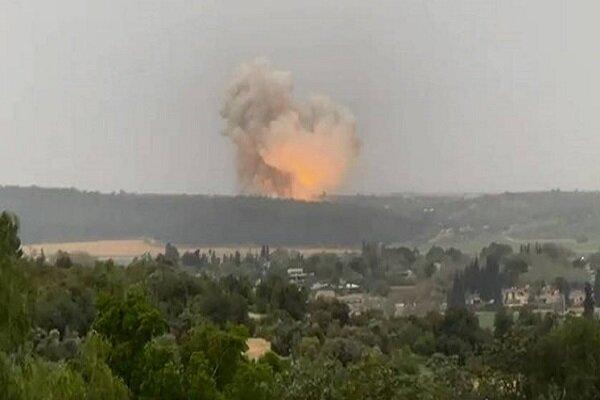 ledakan pabrik rudal israel 20 4 21