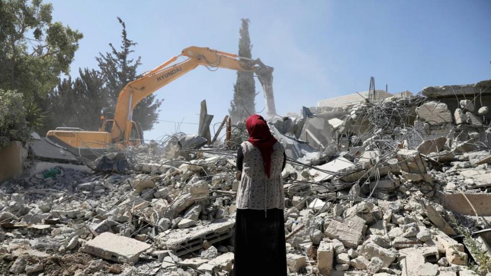 penghancuran di palestina
