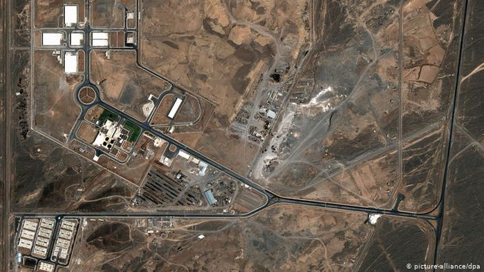 situs nuklir natanz iran