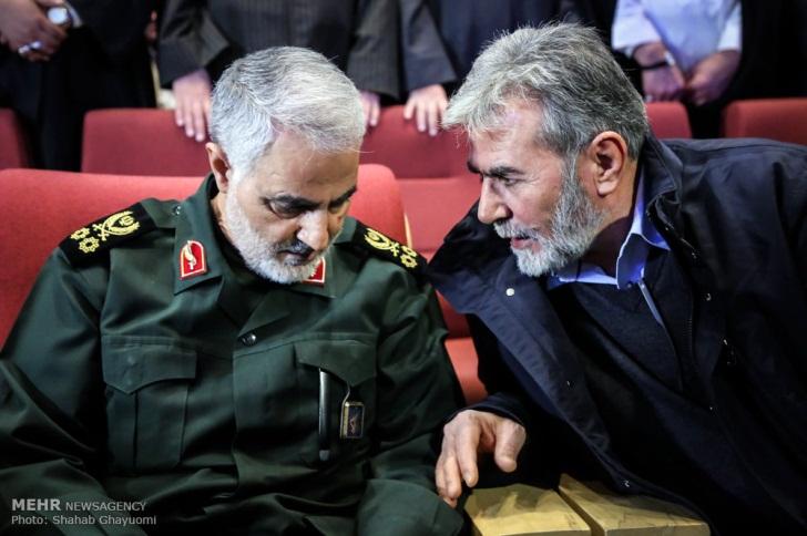 ziyad al-nakhalah palestina dan jenderal qasem soleimani