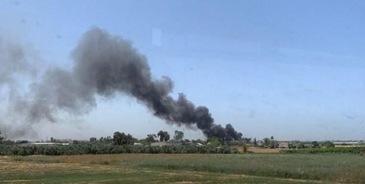 kebakaran dekat bandara israel