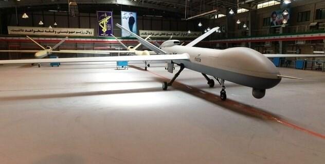 drone gaza Iran