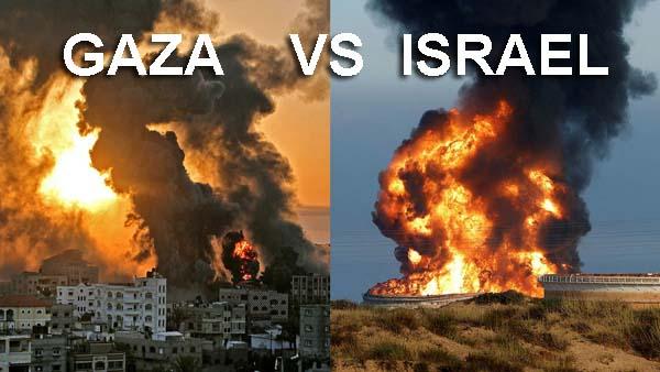 gaza vs israel