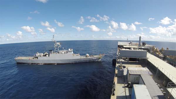 kapal iran di atlantik