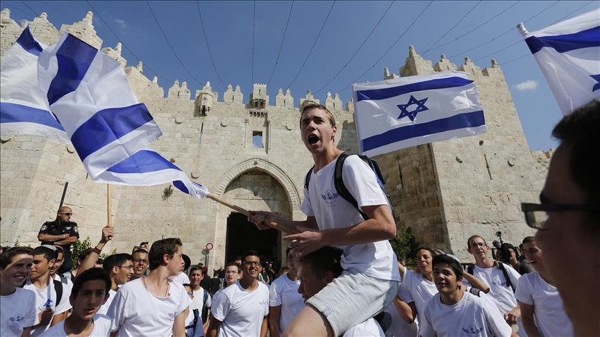 parade bendera israel