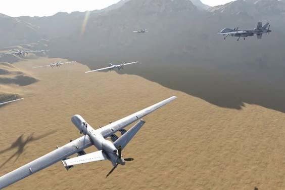 pasukan drone yaman