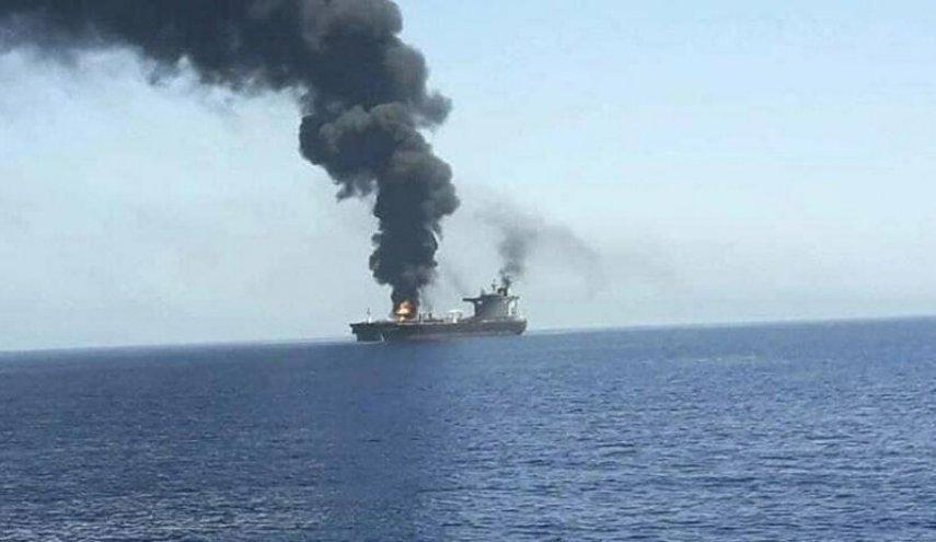 kapal israel terbakar