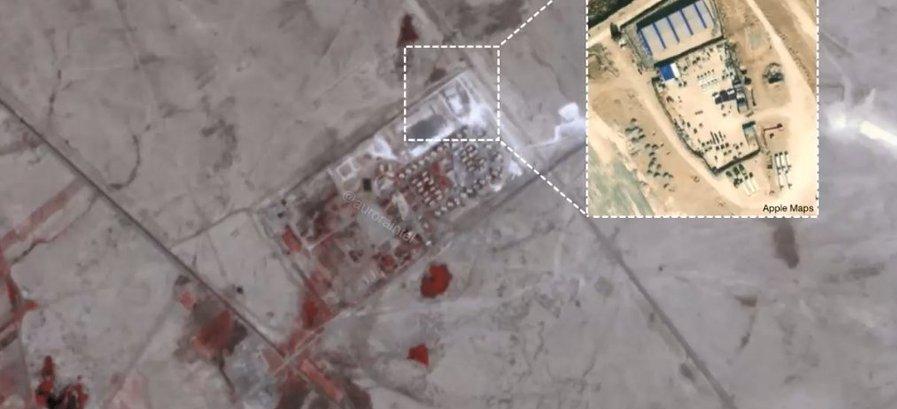 serangan roket ke pasukan AS di Suriah