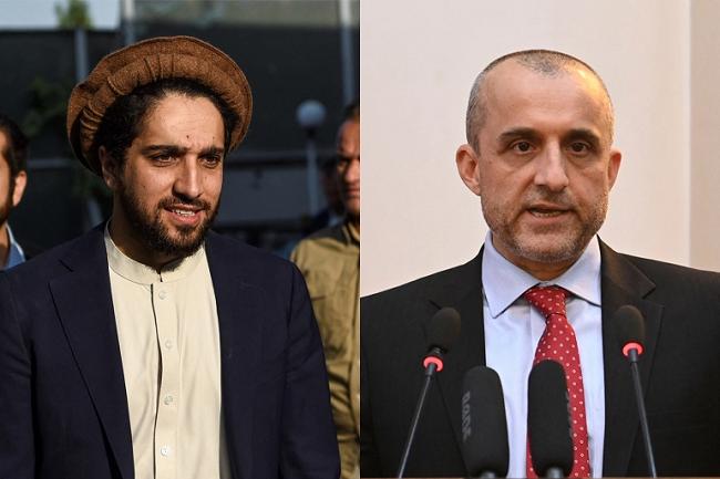 ahmad massoud dan amrullah saleh