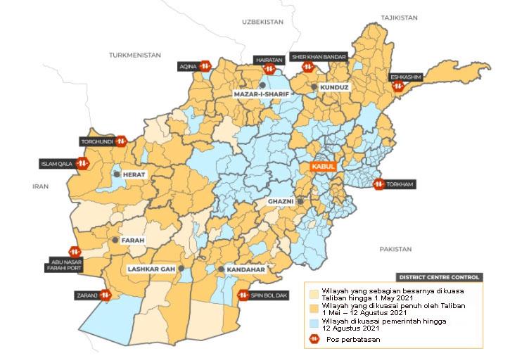 peta perang afghanistan 11-8-21