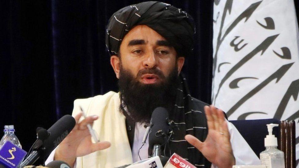taliban zabihullah mujahid